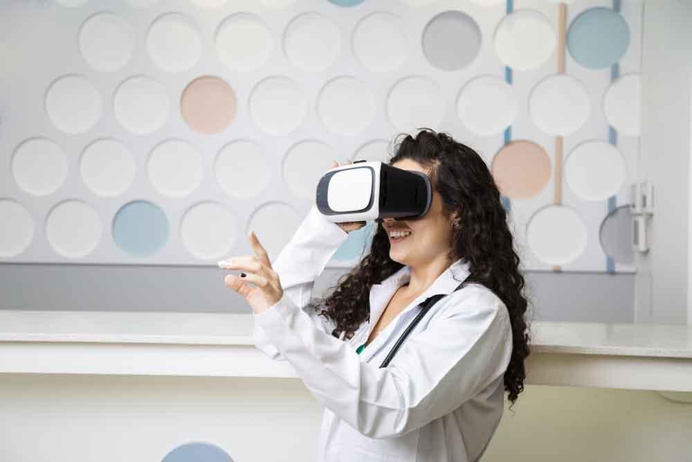 la realtà virtuale, in ambito medico, fa passi da gigante