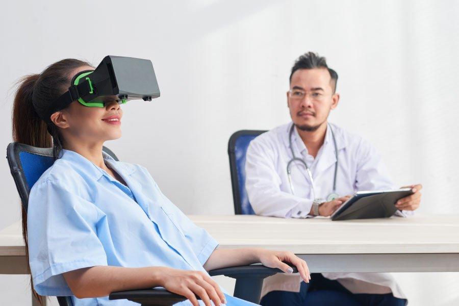 realtà virtuale contro stress